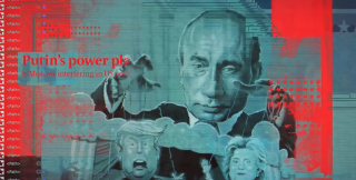 Putin parody in HBO's 'Agents of Chaos'.