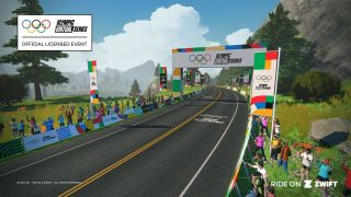 Zwift Olympic Virtual Series
