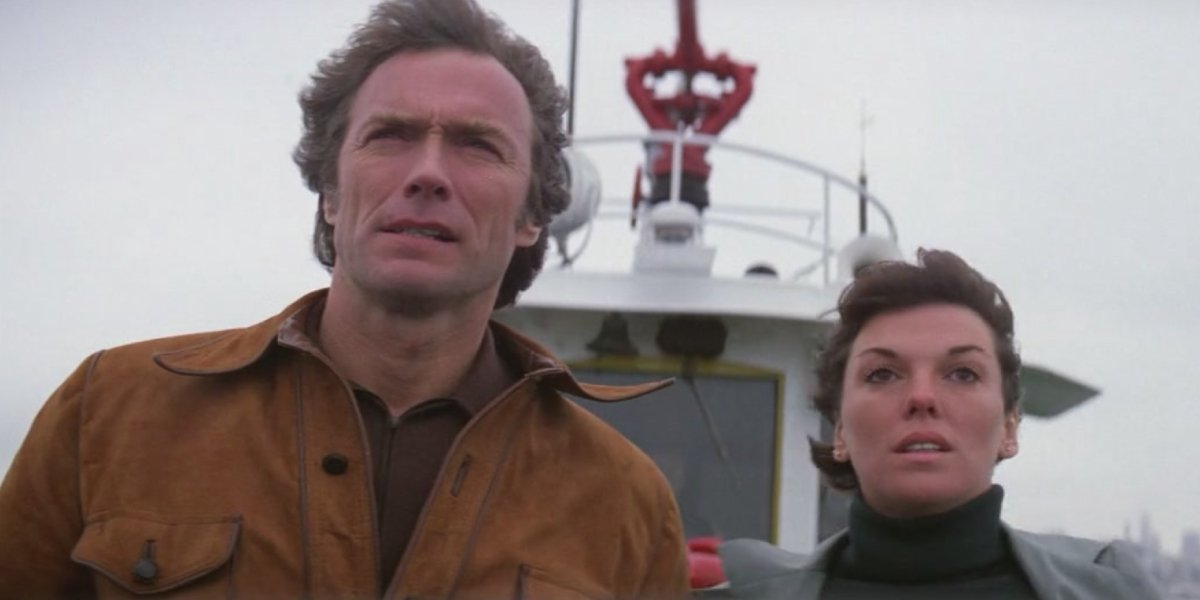 Clint Eastwood and Tyne Daly in The Enforcer