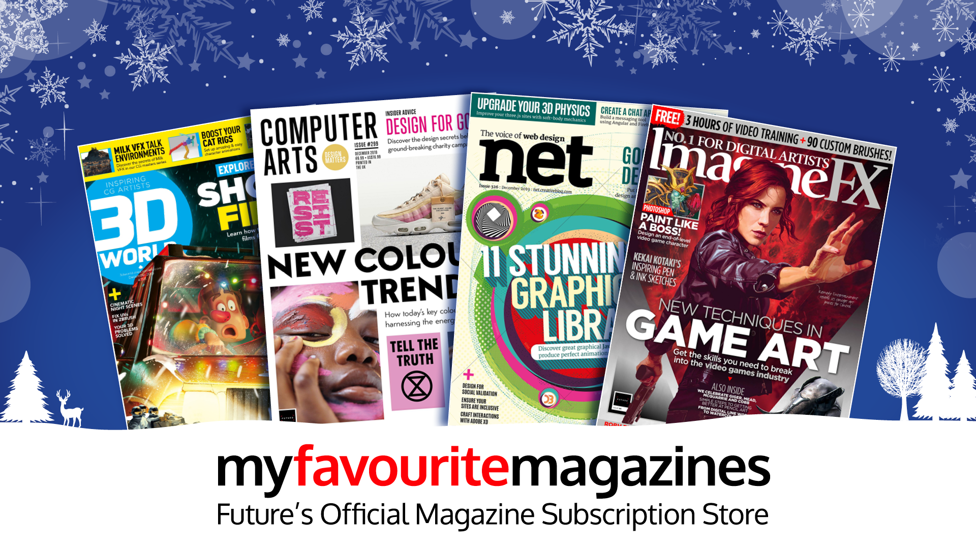 Christmas Gift Ideas Subscribe To The World S Best Creative Magazines Creative Bloq