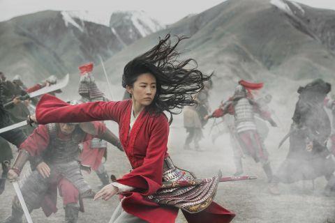 Yifei Liu as Mulan in the live-action version of Disney's Mulan.