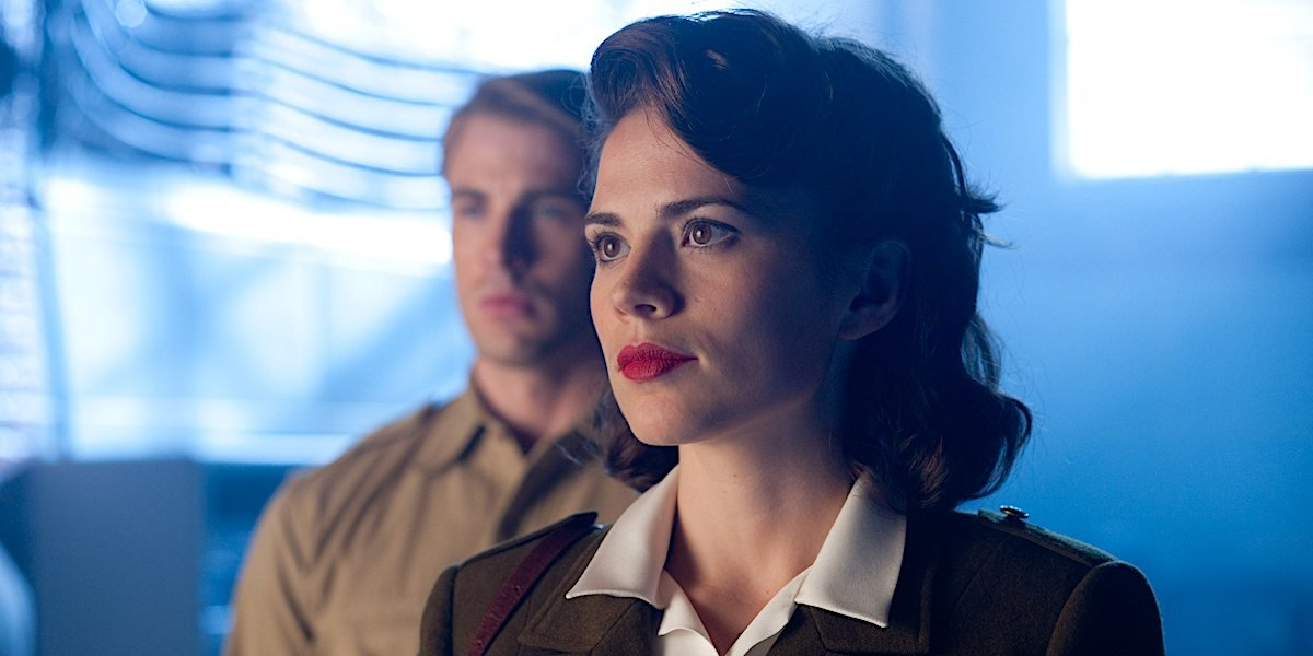 Hayley Atwell is Peggy Carter