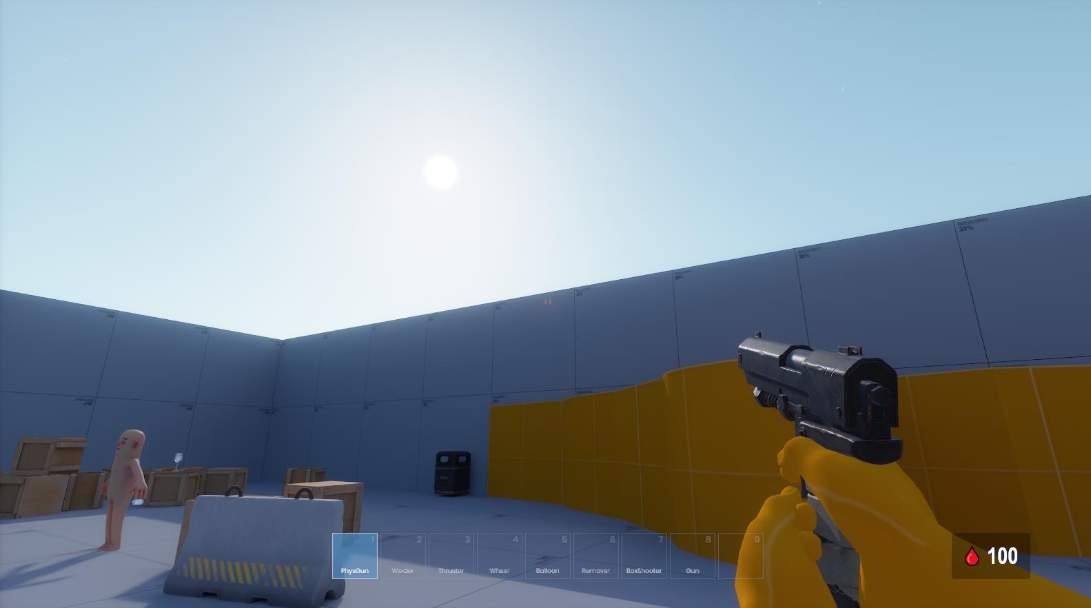Garry's Mod successor Sandbox is looking lit in new development update