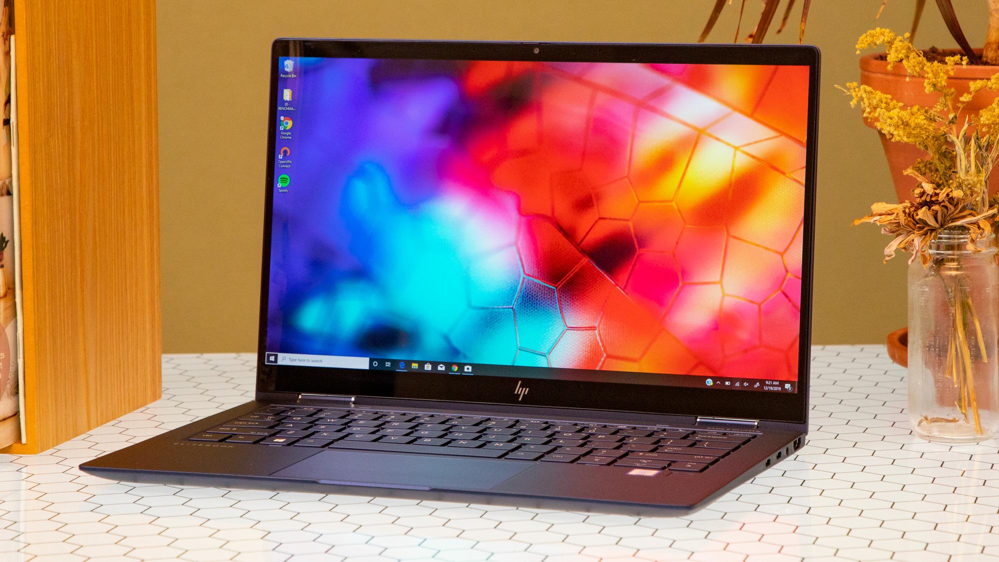 Best touchscreen laptops: HP Elite Dragonfly