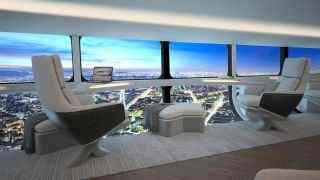 The Airlander 10 would have a roomy interior for rides that could start as soon as 2025.