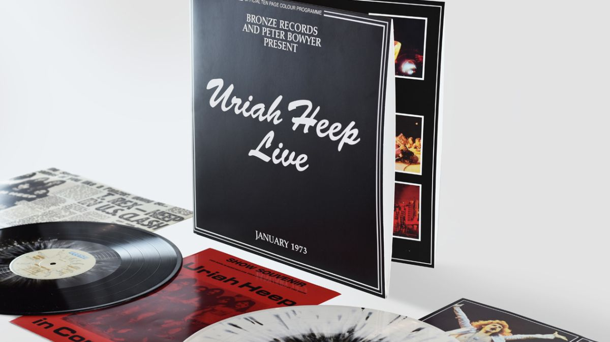 Uriah Heep Live To Be Reissued For Record Store Day Louder