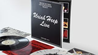 The Uriah Heep Live vinyl