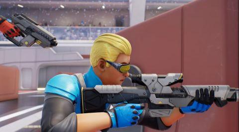 狙击手即将被射击