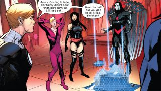One of the '90s most vicious X-Men villains is back in the pages of Hellions #7