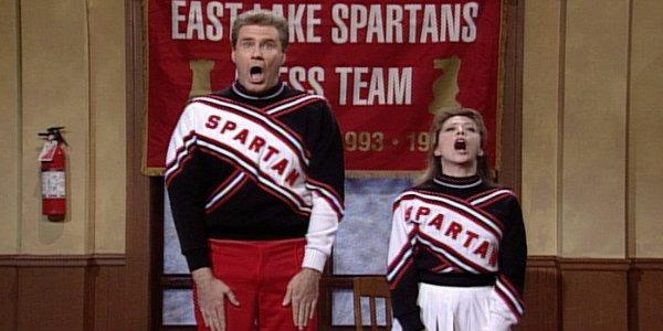 Saturday Night Live Cheerleader sketch