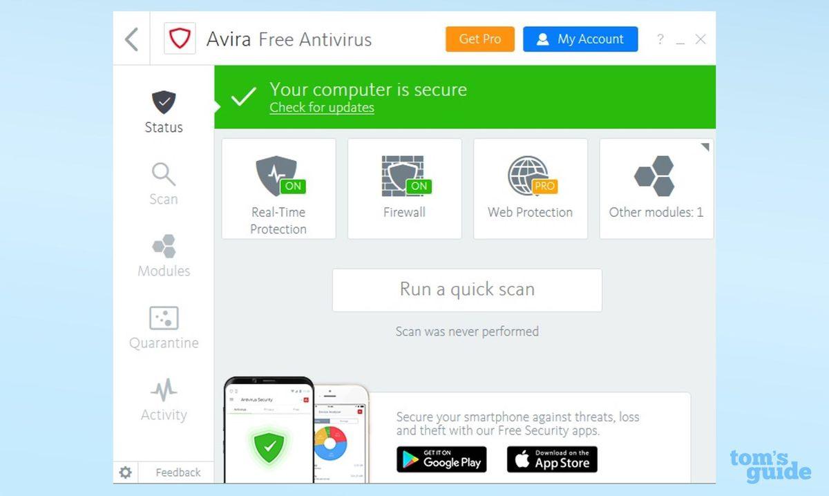 Avira Free Antivirus: Not What It Once Was | Tom's Guide