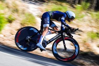 Sarah Gigante (Tibco-SVB) flies to victory in the 2020 elite women's Australian time trial championships