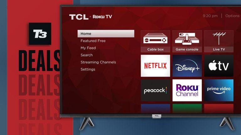 cheap 4k tv deal tcl