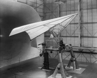 space history, NASA, flexible wind aircraft