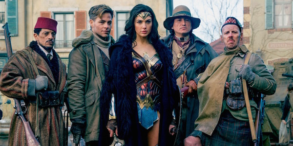 wonder Woman cast
