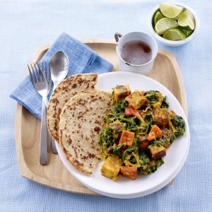 Give this healthy spinach and paneer curry recipe a try if you're on a health kick