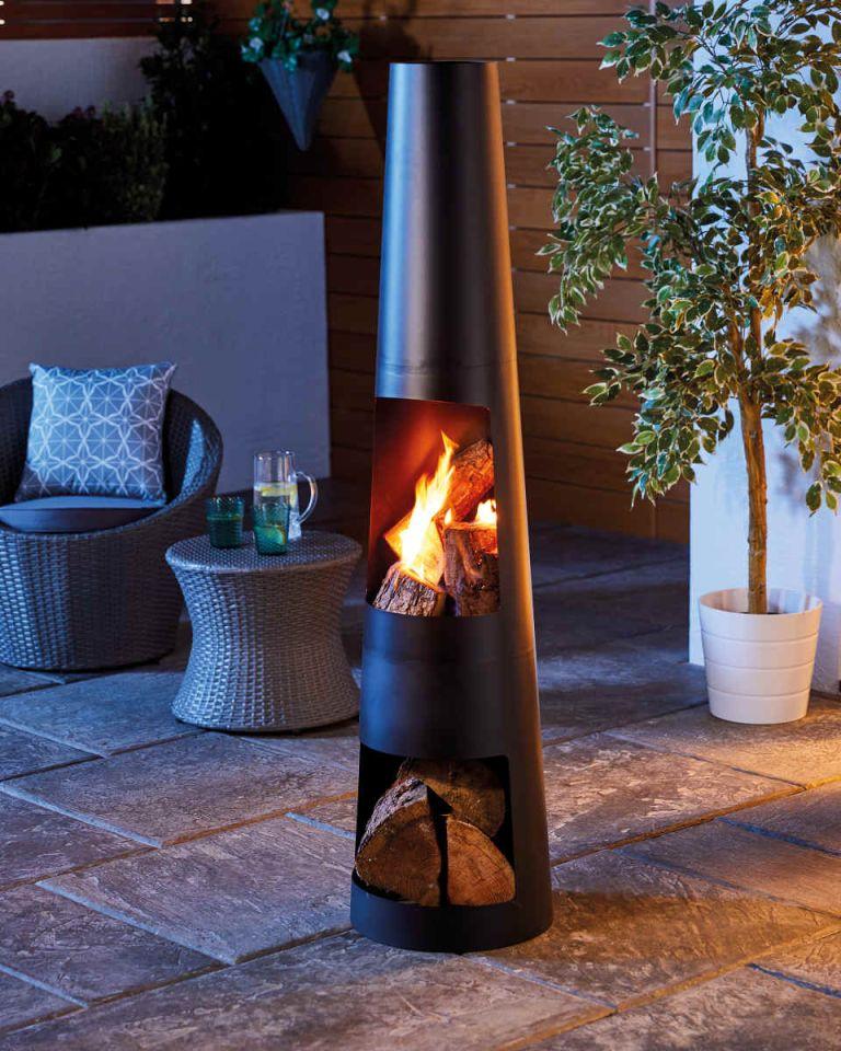 Aldi garden furniture – chiminea