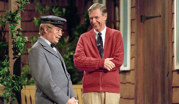 Fred Rogers in the documentary Won't You Be My Neighbor