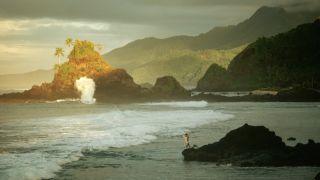 Coastline of American Samoa