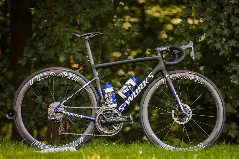 Pro bike: Julian Alaphilippe's Specialized S-Works Tarmac Disc