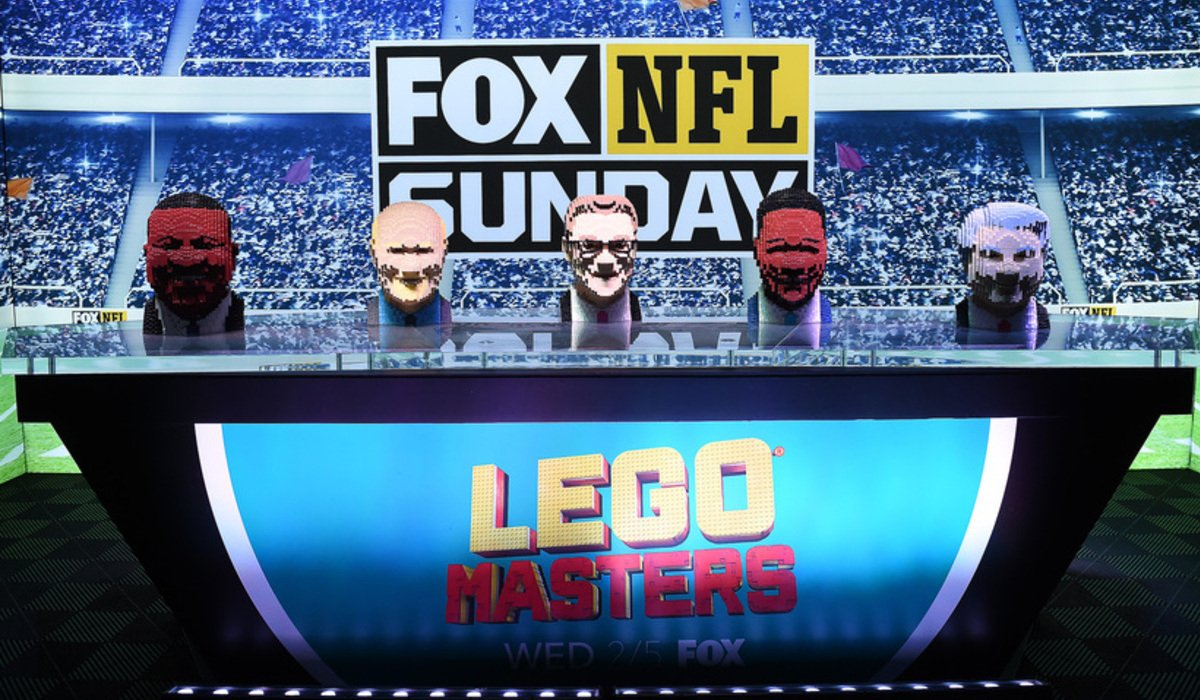 fox super bowl 2020 activation lego masters