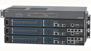 Extron Introduces Digital Matrix Processors 128 Plus Series with VoIP