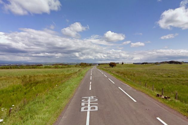 Eaglesham Moor where the accident occurred