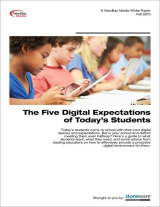 The Five Digital Expectations of Today's Students