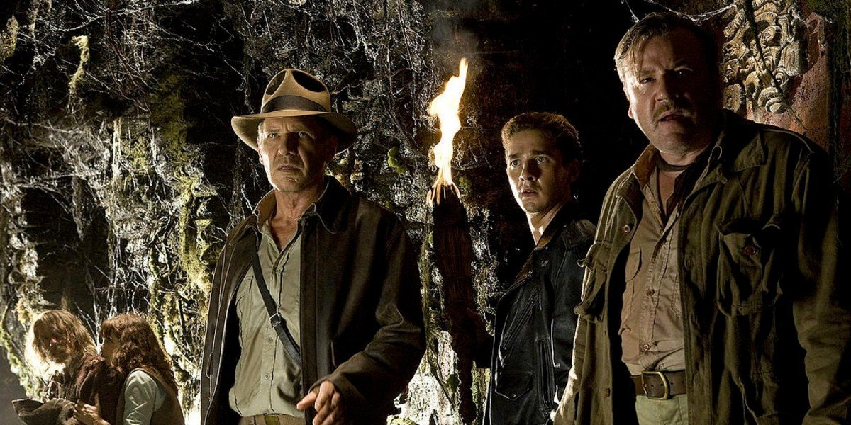 Harrison Ford, Shia LaBeouf, Ray Winstone - Indiana Jones and the Kingdom of the Crystal Skull