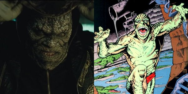 Killer Croc has put on some weight over the years