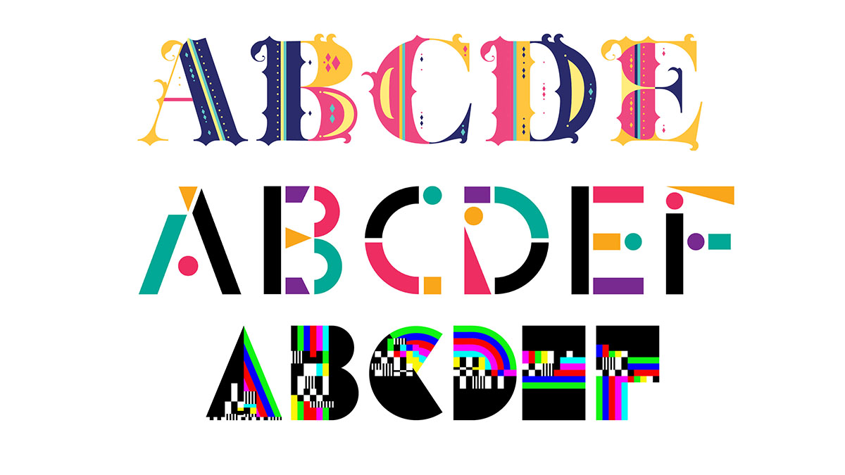 Adobe launches 5 fantastic free colour fonts