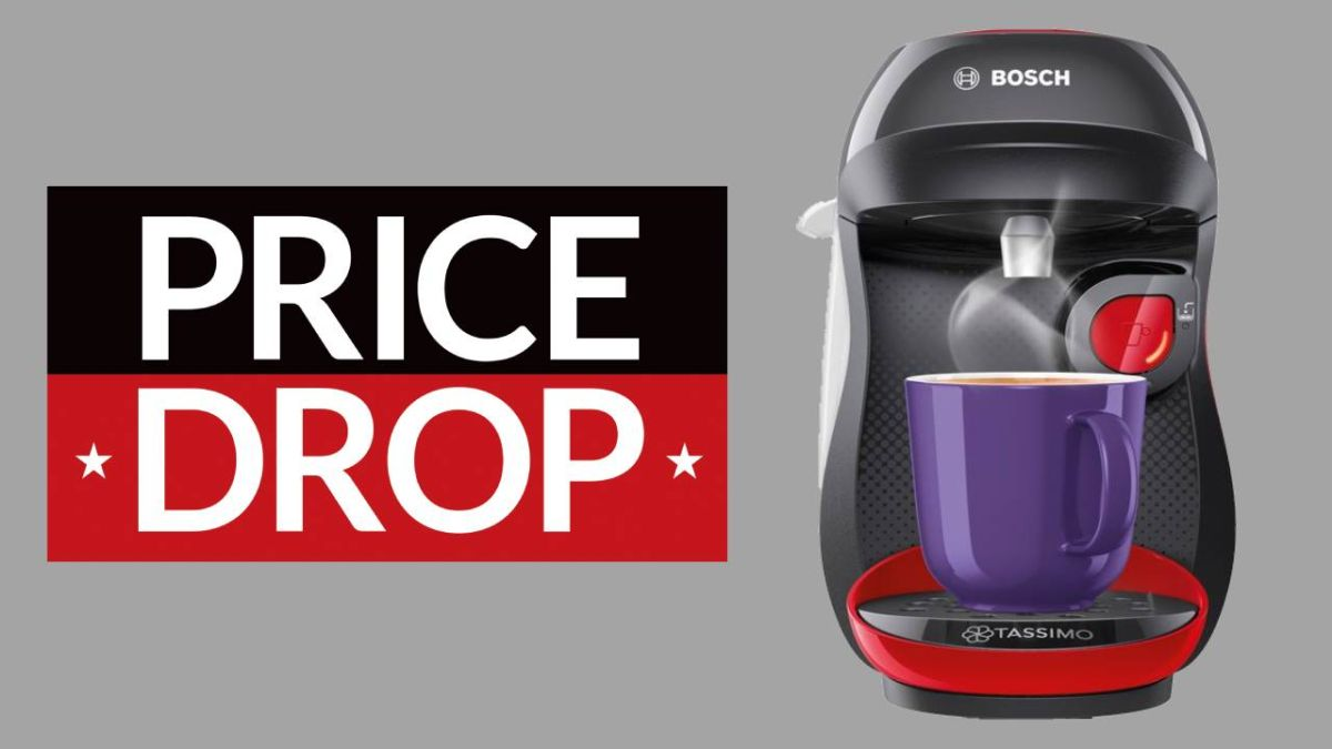 Get early Black Friday price drop & save £72% on the Tassimo Coffee Machine at AO.com
