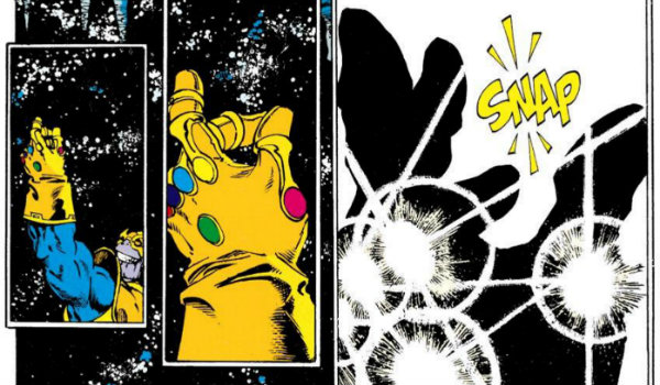 Thanos Infinity Gauntlet Snap