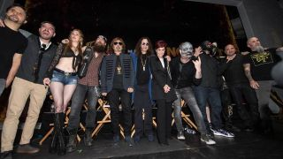 Members of Black Sabbath, Slipknot, Anthrax, Disturbed and more on stage together
