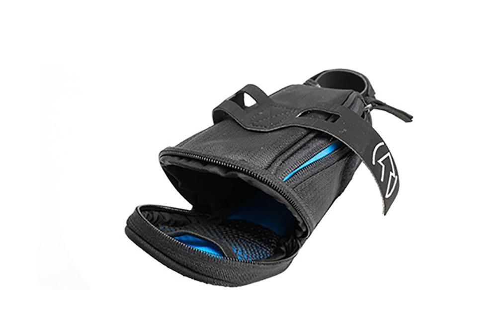 Saddle Bag Shimano PRO Stradius Mini Bicycle Seat Pack w Strap Black//Blue