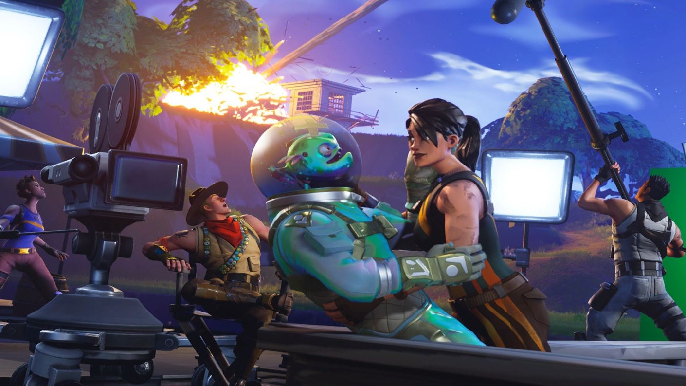 Meteors And Aliens Are About To Crash Into Fortnite Here Are