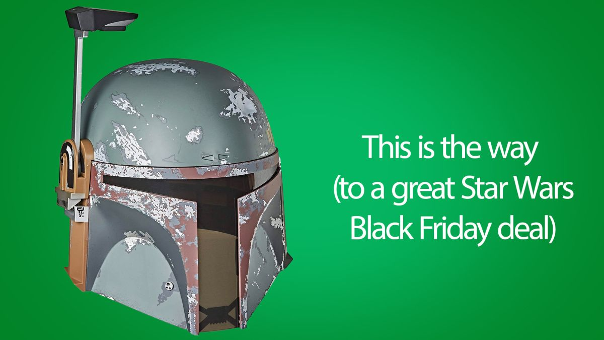 Want a Star Wars Black Friday deal? 'This is the way' to a cheap Boba Fett helmet