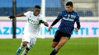 Atalanta player Cristian Romero (right) and the rest of his team will face Parma on Jan. 6.