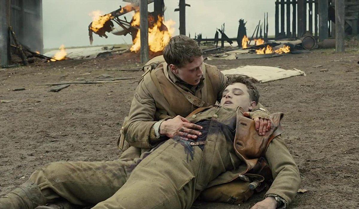 1917 Blake dies in Schofield's arms