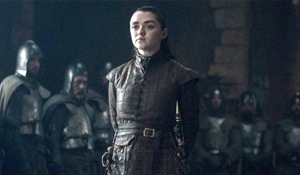 Arya Stark at Winterfell, Game of Thrones
