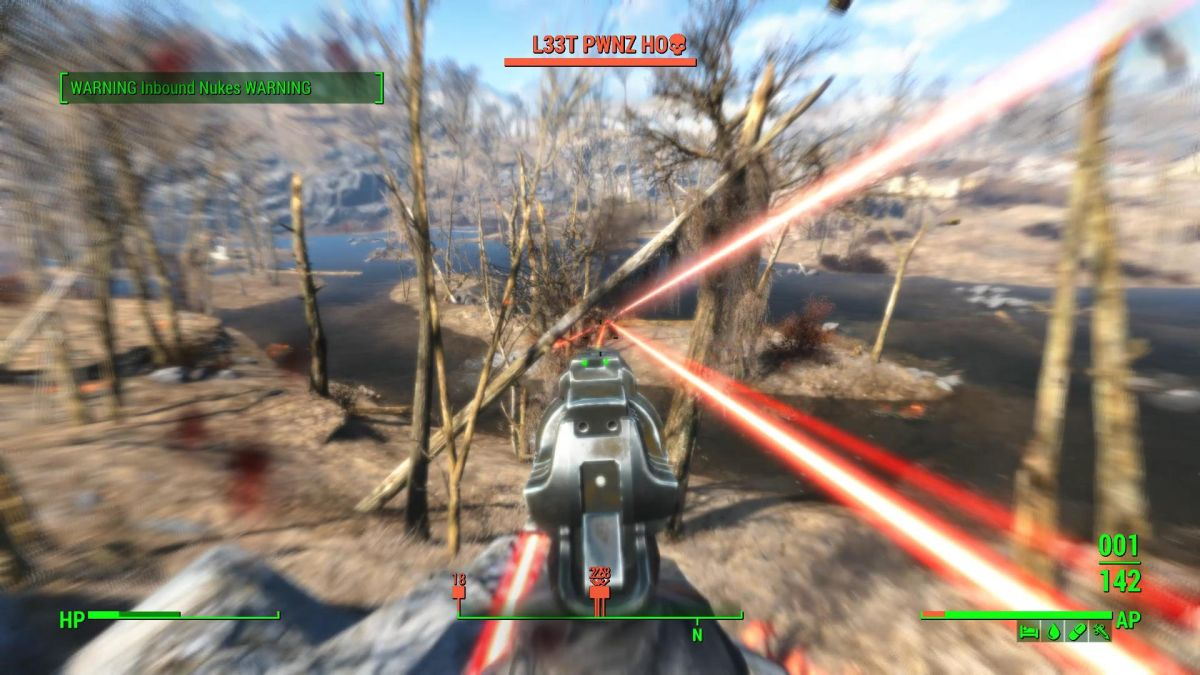 This Fallout 4 mod adds griefing, random nukes to mimic what