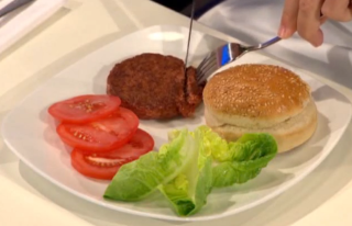lab-grown hamburger