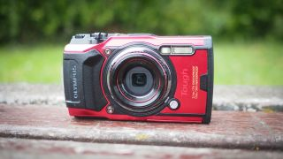 Red alert: Olympus Tough TG-6 red variant is a John Lewis exclusive in the UK