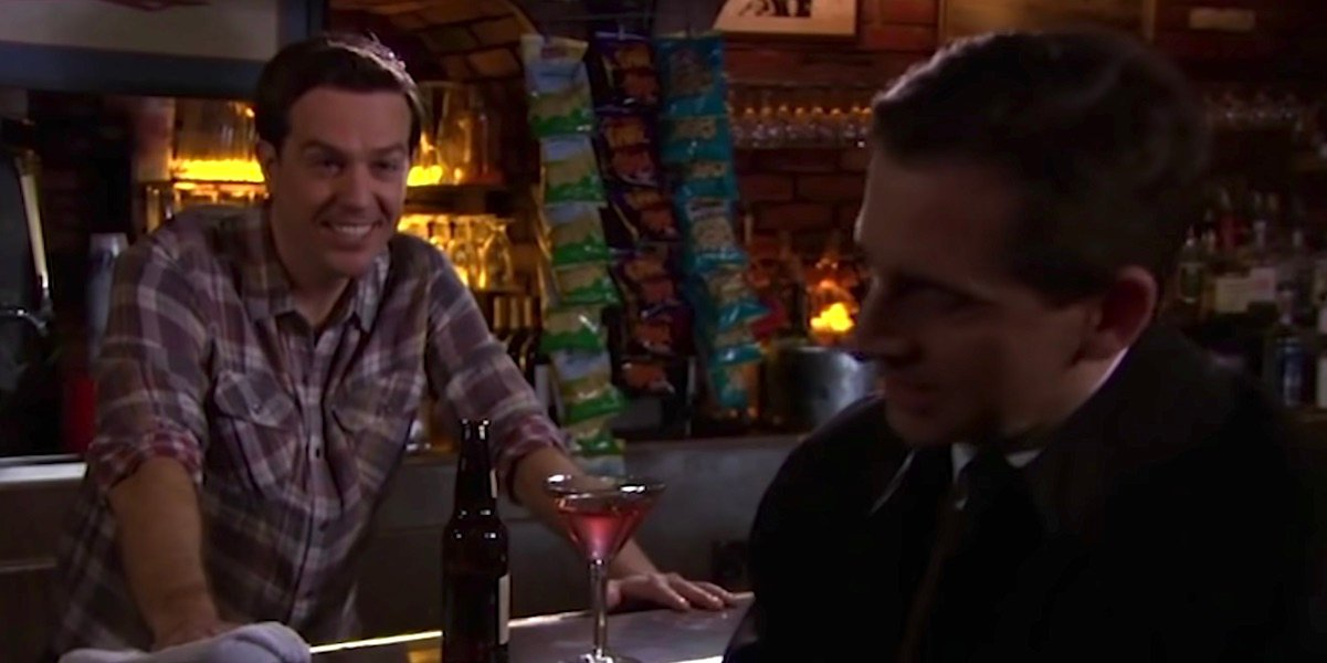 Billy the Bartender in The Office's Threat Level Midnight