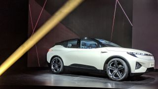 Electric Car Startup Byton Is Back After Unveiling Its M Byte Concept Vehicle At Ces In 2018 It S Returned To Las Vegas Nevada For 2019 With
