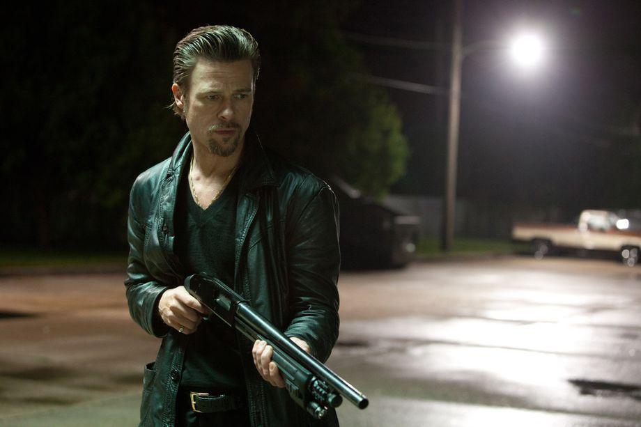 Brad Pitt ticks off his hit list