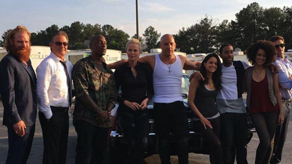 Fast & Furious 8 Cast