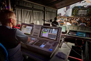 Martin M6 Console Lights Up Dance Festival