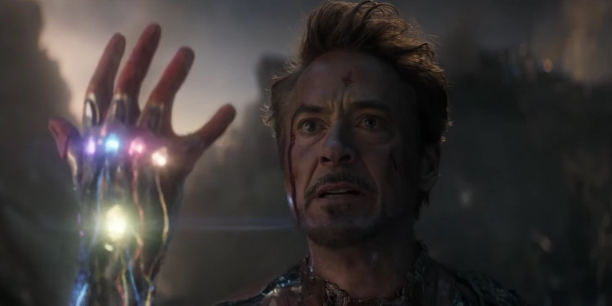 Tony with the Infinity Stones