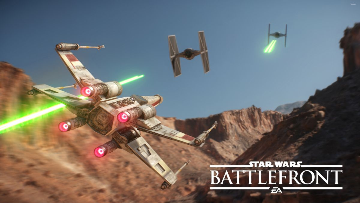Star Wars Battlefront Playstation Vr X Wing Dlc Takes Off